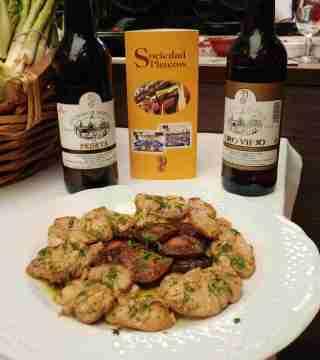 10-Puntas de solomillo sin gluten en el Restaurante Sociedad Plateros Maria Auxiliadora