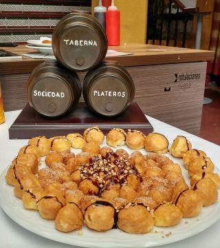 14-Bunuelos al viento sin gluten del Restaurante Sociedad Plateros Maria Auxiliadora