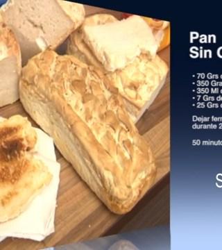 Pan sin gluten en el Restaurante Sociedad Plateros Maria Auxiliadora