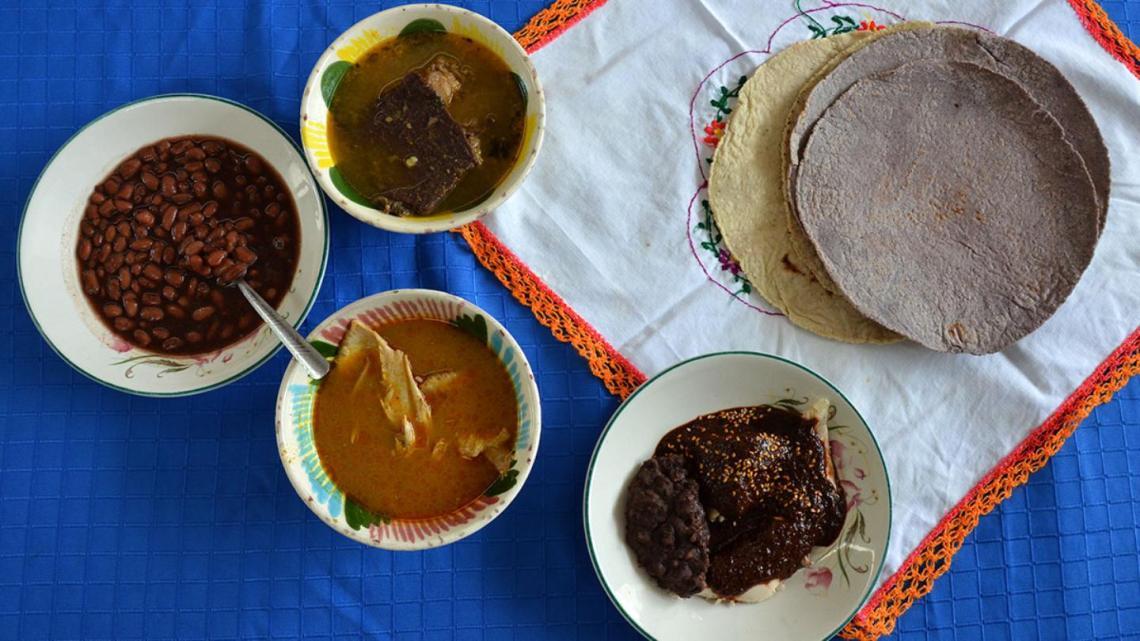 En Oaxaca el cariño se expresa en la comida