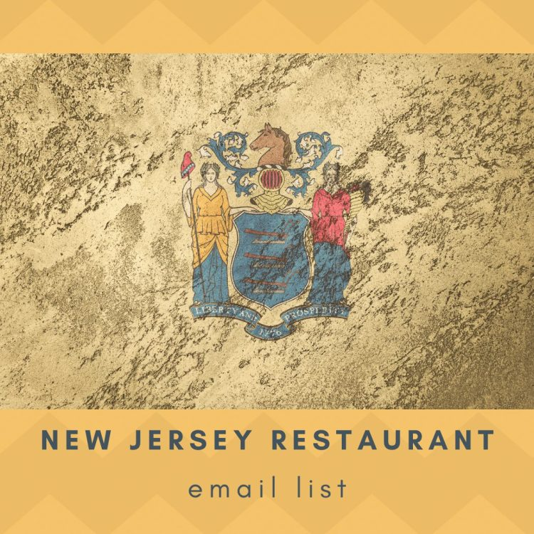 New Jersey Restaurants Email List