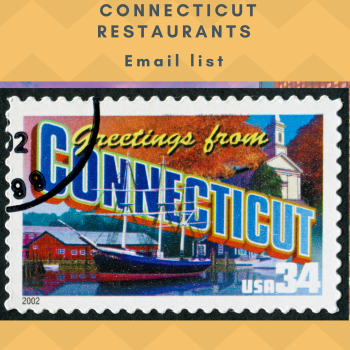 Connecticut Restaurant Email and Mailing List