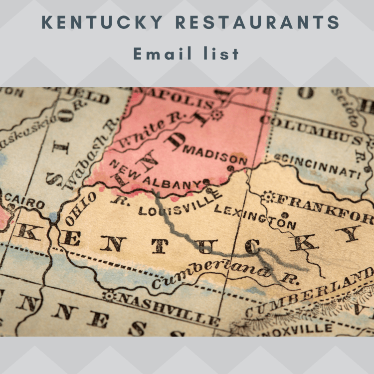 Kentucky Restaurants Email and Mailing List