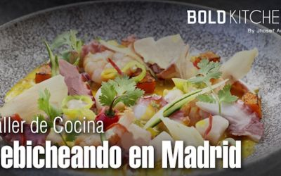 Taller de Cocina – Cebicheando en Madrid