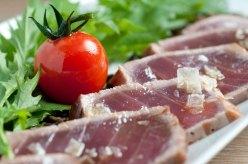 Lomo de atún rojo en Restaurante Ponzano