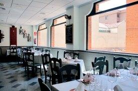 El comedor de Restaurante Uskar Madrid