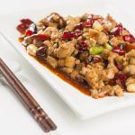 Poulet Gong Bao aux arachides