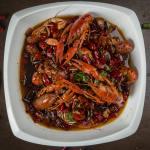 Szechuan style crawfish