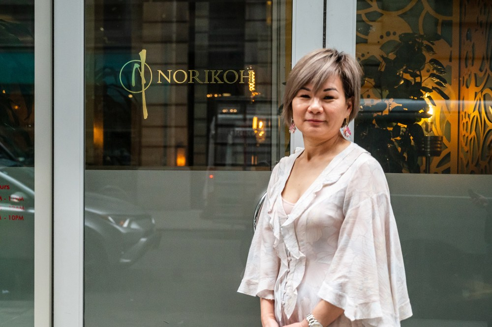 Owner of Norikoh, Kristina Pan