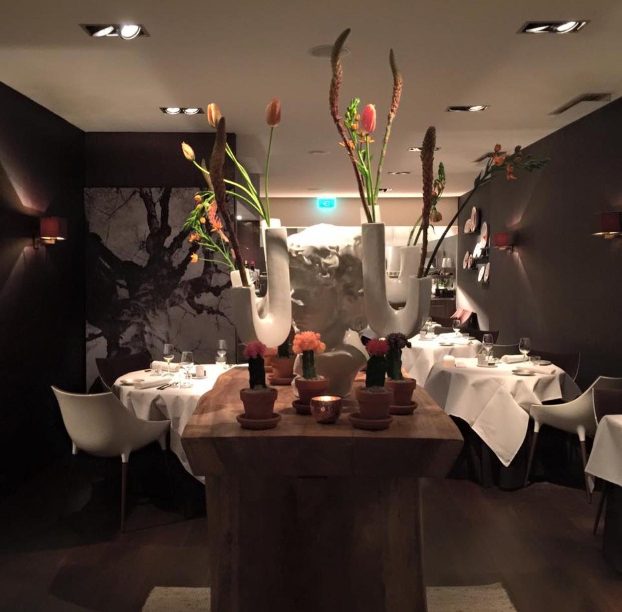 Het restaurant van binnen La Provence