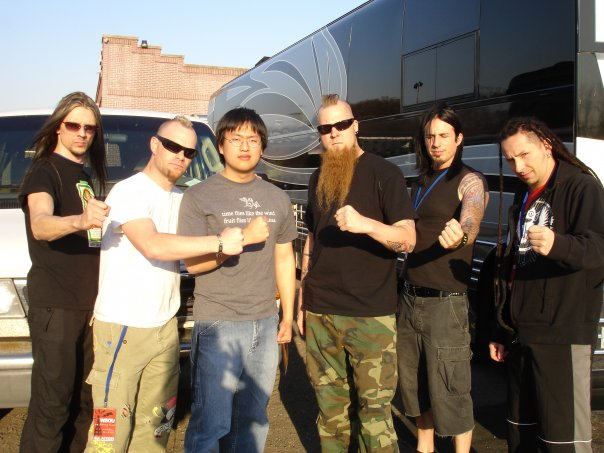 Me and Five Finger Death Punch