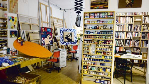 Atelier Nouvelle Tendance Benoit Janson, restaurateur d'œuvres d'art à Paris.