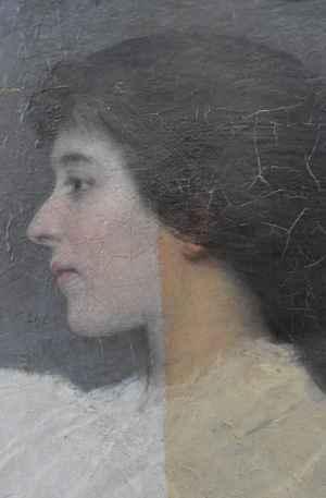 restauratie schilderijen - verwijderen oud vergeeld vernis