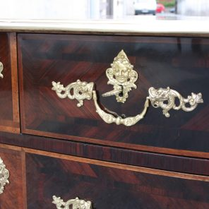 Commode XVIII, placage palissandre