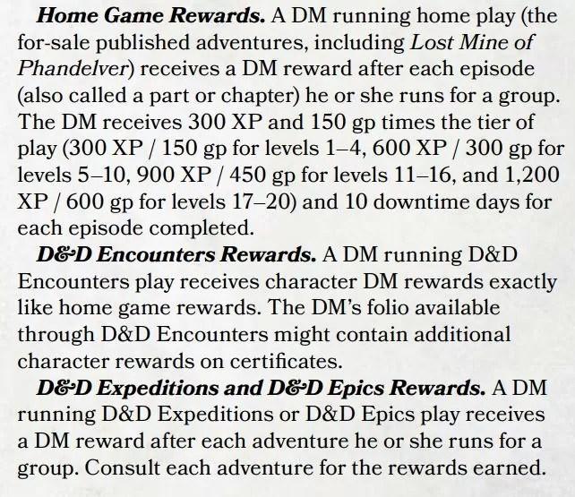 DM rewards S3