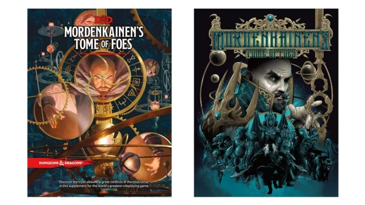Mordenkainen_s Tome of Foes both covers