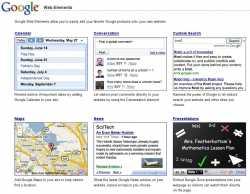 Google Web Elements