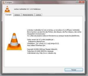 VLC : la version stable 1.0 est disponible