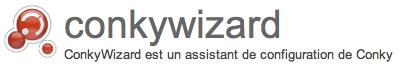 ConkyWizard : un assistant de configuration pour Conky