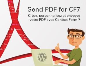 Send PDF for Contact Form 7 : Créez, envoyez