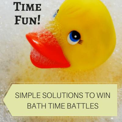 Making Bath Time Fun!