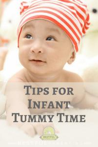 Tips for Infant Tummy Time