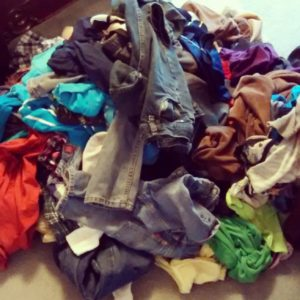 Can the battle with the laundry pile lead your heart toward rest?