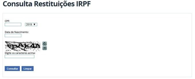 veja como fazer a consulta consulta ao primeiro lote de restituição Imposto de Renda Pessoa Física 2019 e ver se sua restituição será creditada neste mês