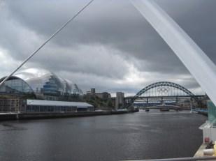 Similar but different, Newcastle's famous Tyne Bridge