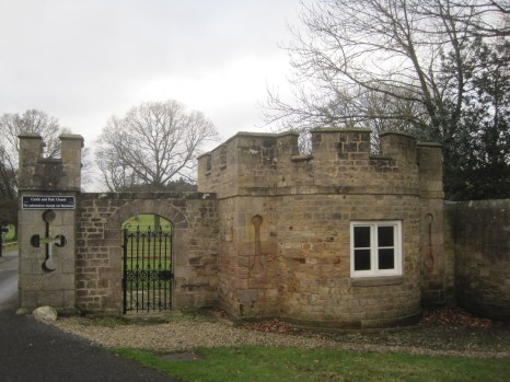 With it's own gate house