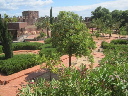 The modern gardens and rills