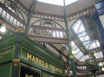 Famous Marks and Spencer and the centenary clock.