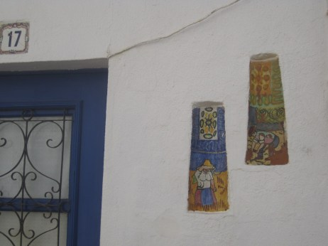 Wall niches in the Algarve.