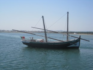 """The caraval """"Bom Sucesso"""" which sails from Olhao"""