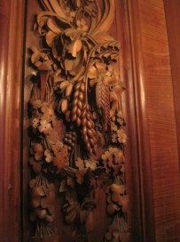 Exquisite wood carving