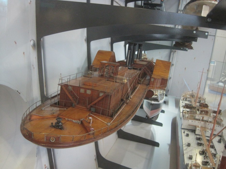 And the longest wooden paddle steamer!