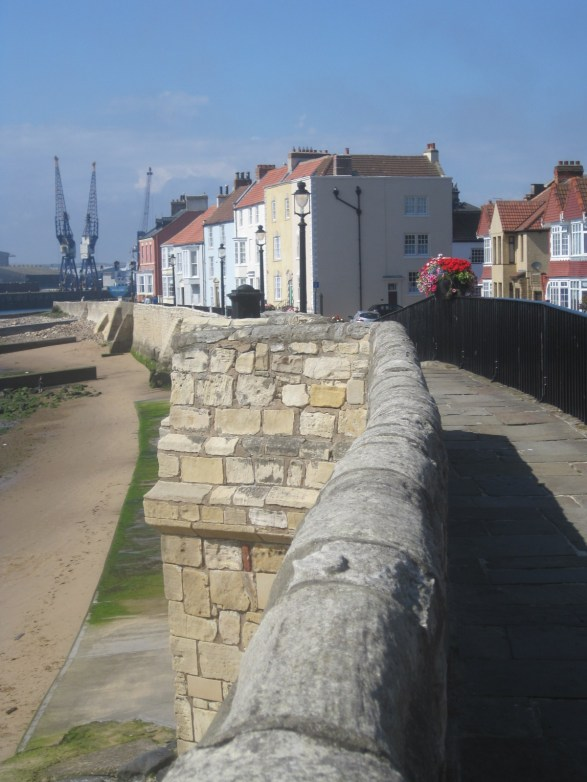 The sturdy town wall