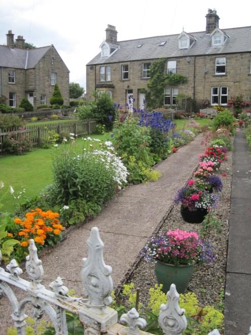The row houses