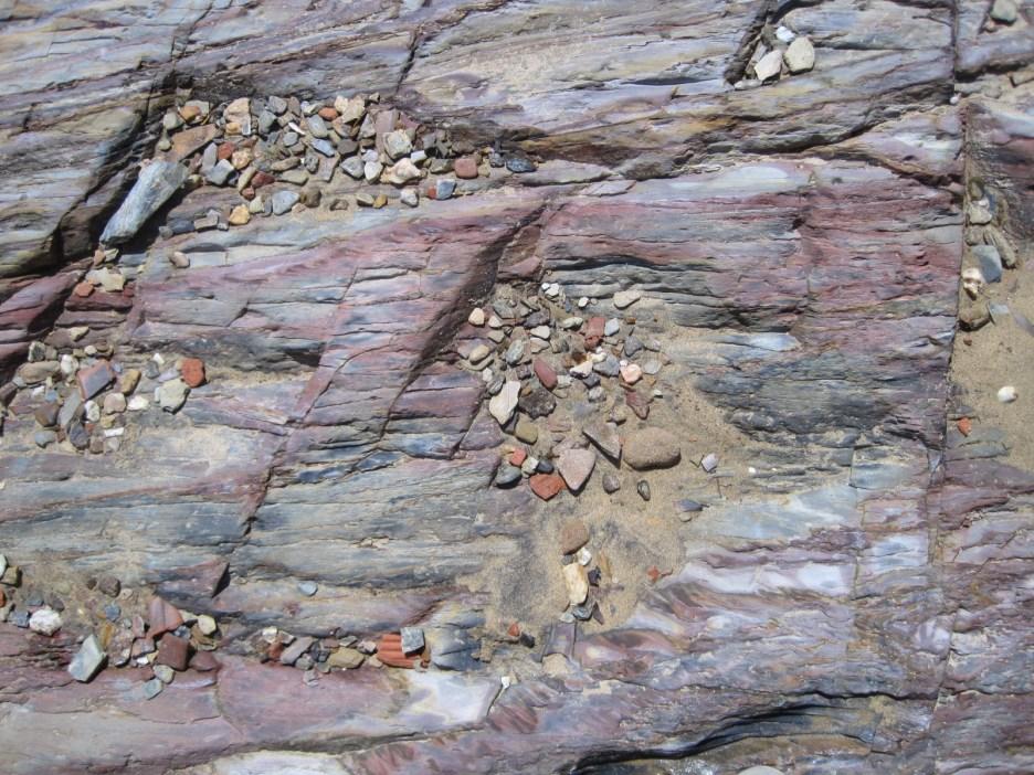 The rock beneath my feet