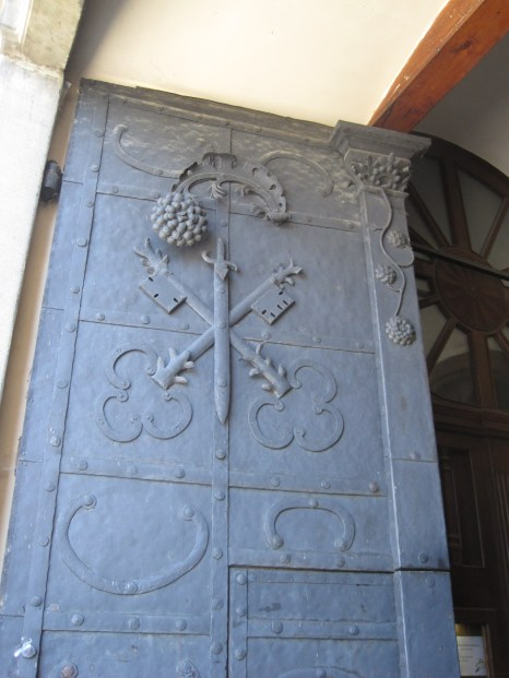 Ornate door