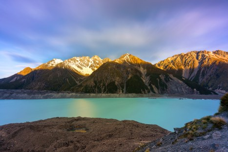 Tasman Lake, New Zealand