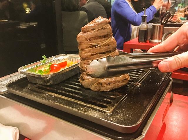 ローストビーフ焼き