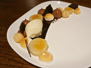 Chocolate cassava cake at The Refinery