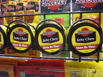 Jerky chew/Photo: David Hammond