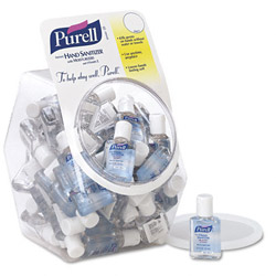 PURELL® Portable .05 oz Size Hand Sanitizer in Display Bowl