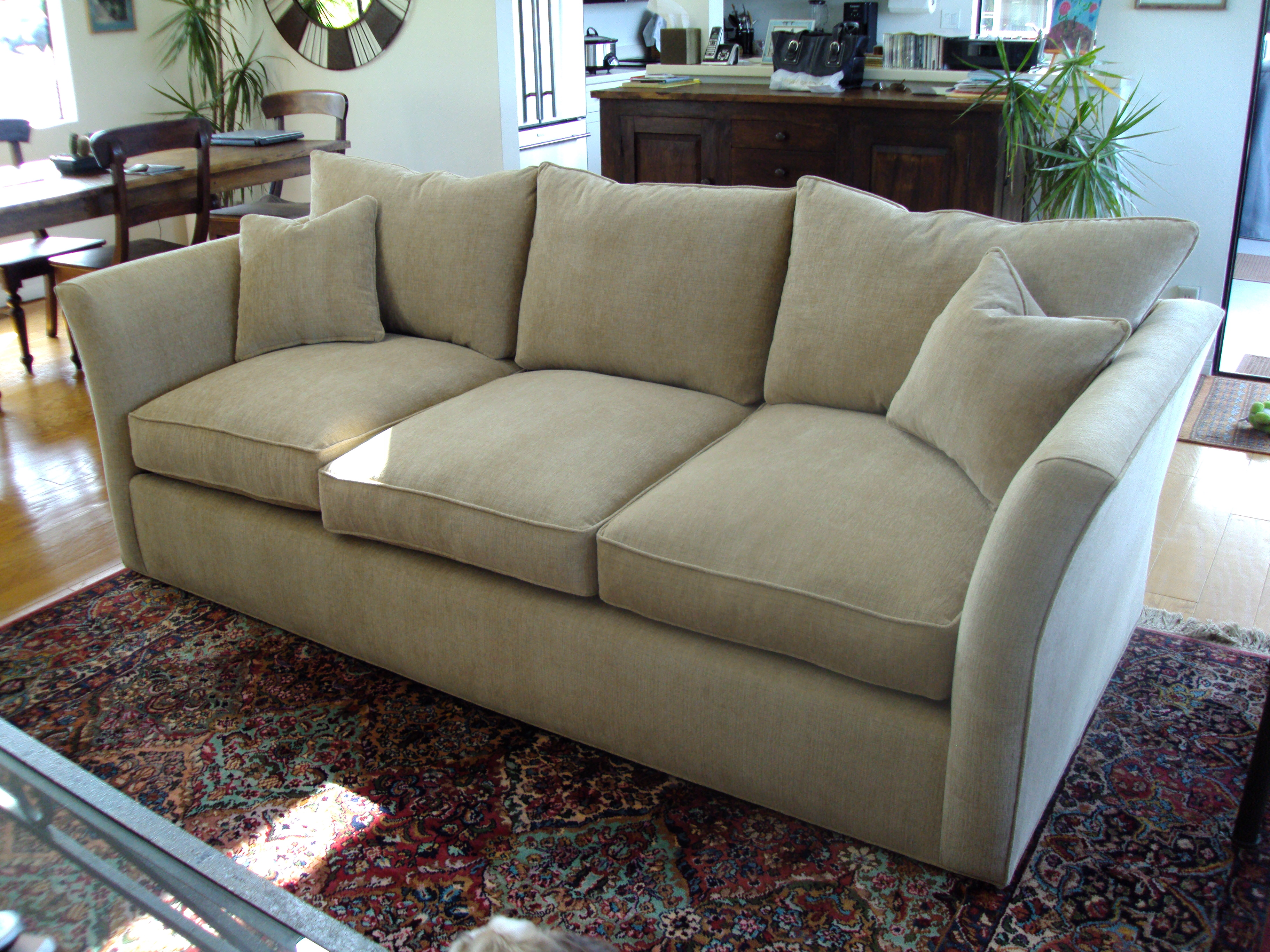 Upholster Leather Sofa