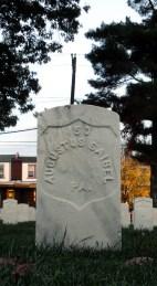 Click for Find-A-Grave Memorial: Augustus Saibel