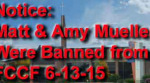 Muellers Banned from FCCF