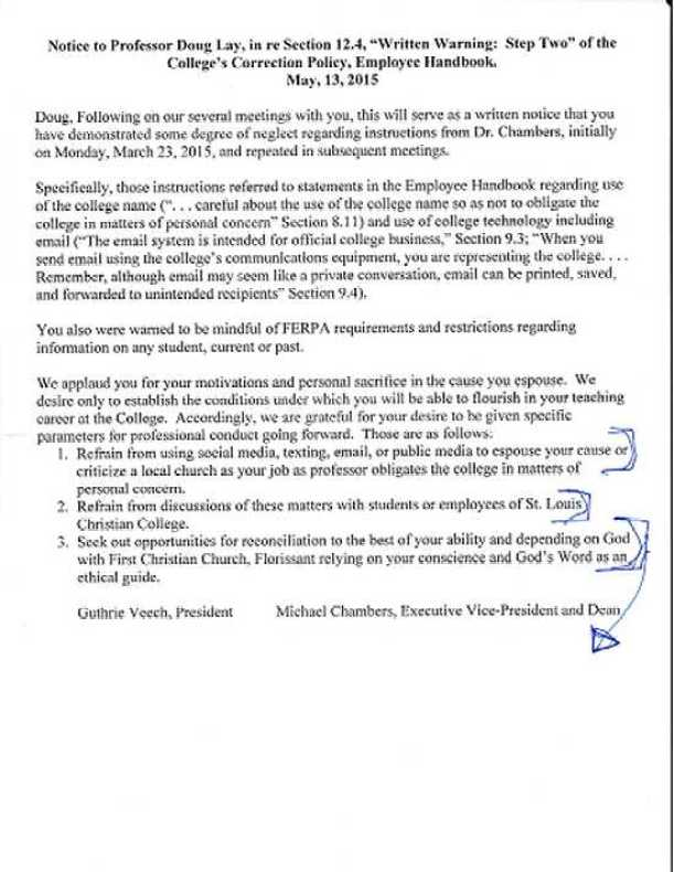SLCC Contract Conditions for Doug Lay