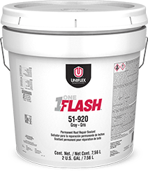 One Flash™ Permanent Roof Repair Sealant